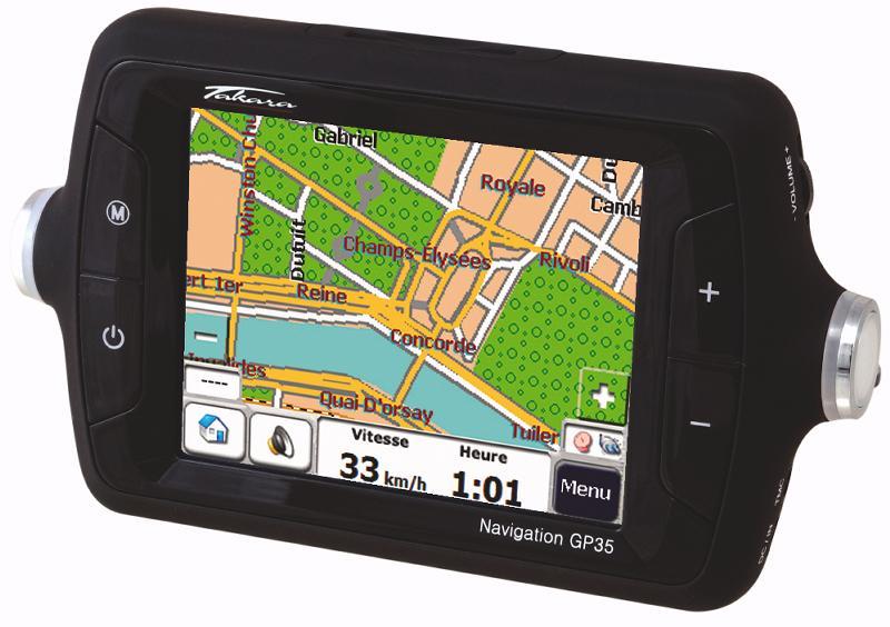 Le GP35 de Takara, un nouvel outil de navigation multimédia