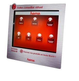Hama propose des supports d'aide à la vente à ses distributeurs