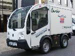 Top Chrono lance un service de livraison en véhicule utilitaire électrique