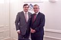 Marc-Antoine Selaquet, président du groupement achats HEC et Olivier Wajnsztok, directeur associé AgileBuyer