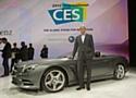 Dieter Zetsche, président de Daimler AG, au CES