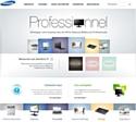 Samsung lifte ses sites web pros