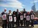 Des collaborateurs de HRG France ont rejoint les commerciaux de quatre prestataires de la société à l'occasion du HRG Day.