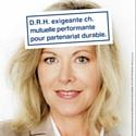 La campagne à destination des TPE-PMe orchestrée par Mutuelle Bleue s'inspire des petites annonces.