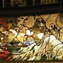 Le vitrail de la Villa Frochot, salle d'événement à Pigalle.
