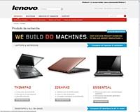 Lenovo se lance dans la vente en ligne