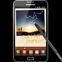 Le Galaxy Note de Samsung, à mi chemin entre tablette et smartphone