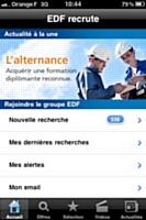 EDF recrute des commerciaux sur mobile