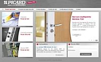 Picard Serrures peaufine le site web pour ses revendeurs