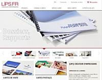 Lips imprime les présentations commerciales sur le Web