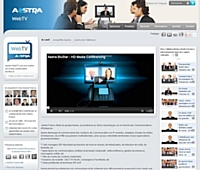 Aastra a créé sa chaîne télévisée sur Internet.