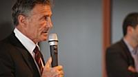 Guy Novès, entraîneur du Stade Toulousain, invité de marque du dernier séminaire commercial d'HP.