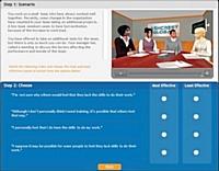 Graduate Talent Simulation a pour but d'aider les managers commerciaux à départager deux vendeurs.