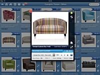L'application izOrder permet au commercial terrain d'accéder sur sa tablette à son catalogue produits.