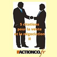 5citations pour la vente et la négociation (2/3)