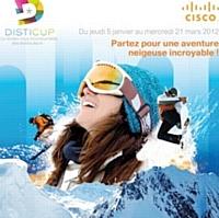 L'agence lecaméléon a organisé des mini-challenges pour Cisco.