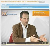 Capture d'écran de la vidéo de formation 'Motiver ses collaborateurs par la reconnaissance'