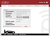 Louer une voiture avec chauffeur via SnapCar en un clic