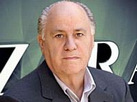 Amancio Ortega, troisième fortune mondiale et ex-vendeur.
