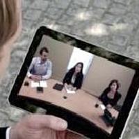 Orange Business Services lance Video Meeting, une appli de connexion aux visioconférences depuis un terminal mobile.