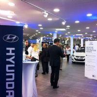 L'inauguration du nouveau point de vente Hyundai à Nice en juin 2013