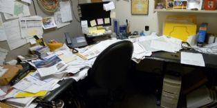 Vive le désordre au bureau !