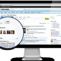 Salesforce intègre à Chatter un outil permettant à l'utilisateur de mieux exploiter les informations contenues sur les réseaux sociaux.