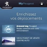 MyPeugeot, nouvelle appli smartphone de Peugeot
