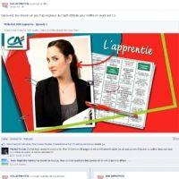 L'épisode 1 de la websérie mise en ligne par le groupe Crédit Agricole pour recruter des commerciaux en alternance conseille les candidats sur leurs CV.
