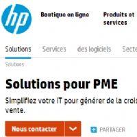 HP entend conquérir les Pme françaises, notamment en leur consacrant un site web