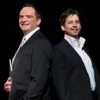 Yves Doumergue, champion de France de magie, et Hervé Klipfel, spécialiste du management des commerciaux.