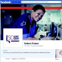 La page Sodexo sur Facebook.