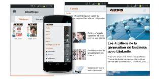 Action Commerciale accessible sur smartphone