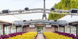 Séminaire avec vue sur la Tour Eiffel