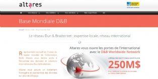 Altares-D&B favorise le développement international des entreprises