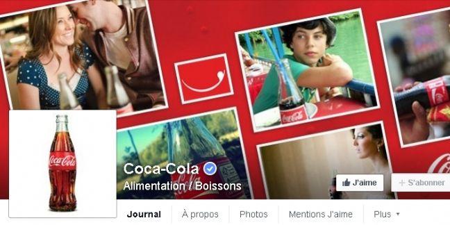 "Coca-Cola France : ""Facebook devient notre premier partenaire digital"""