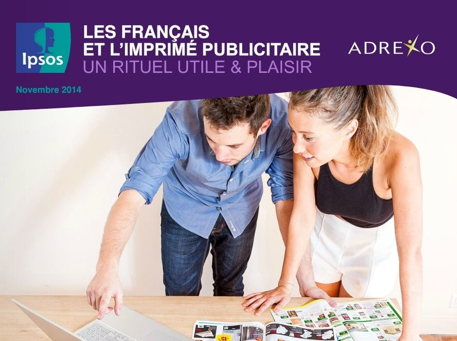 Les Français aiment toujours l'imprimé publicitaire