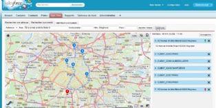 CRM : Salesforce se renforce sur la géolocalisation