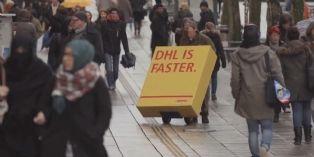 [Idée d'ailleurs] DHL trompe ses concurrents pour faire sa publicité