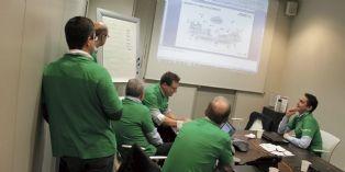 C'est via uneplateforme web que les collaborateurs d'Alcatel-Lucent Entreprise France se sont affrontés lors d'une journée deformation.