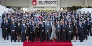 Toyota anime son réseau avec un prix de la Satisfaction Client