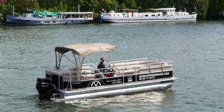 Paris : une réunion pro sur un bateau