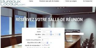 Un site de réservation de salles de réunion en ligne