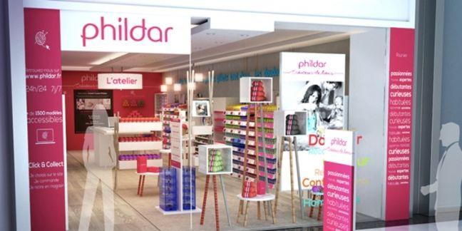 Le digital au coeur des nouveaux points de vente Phildar