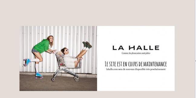 Le site de La Halle le mardi 7 avril 2015 à 10H30