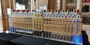 Réplique du Hilton Paris Opera en Lego