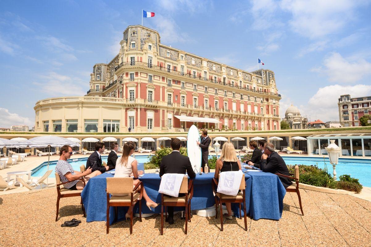H tel du palais un s minaire relaxant sur la c te basque for Prix chambre hotel du palais biarritz