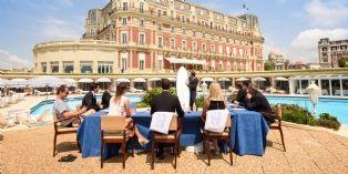 Hôtel du Palais : Un séminaire relaxant sur la côte basque