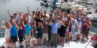 Grosfillex récompense ses meilleures agences 2015 par un voyage à Dubaï