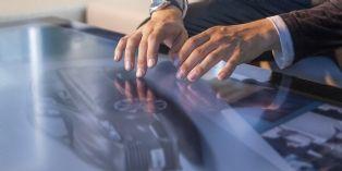Au sein des Ford Stores, le client à la possibilité de modéliser en 3D son futur véhicule
